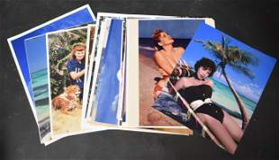 (24) Photos 8x10 Bunny Yeager. 8x10's of Several Models
