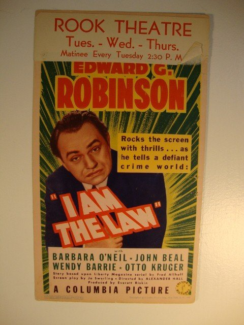 13: I AM THE LAW MOVIE POSTER