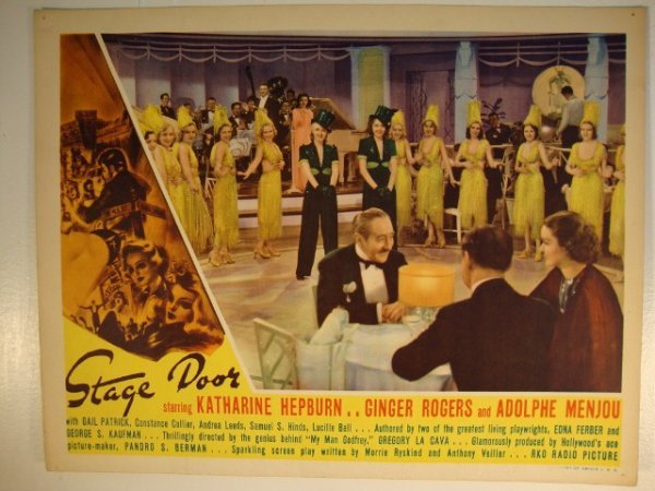 20: STAGE DOOR LOBBY CARD & IN-PERSON TITLE CARD