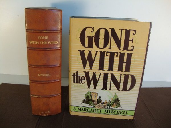 239: GONE WITH THE WIND  1936 FIRST EDITION BOOK - 2