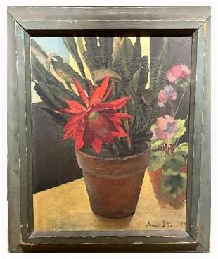 Irma Stern(South Africa 1894-1966); Oil Still Life