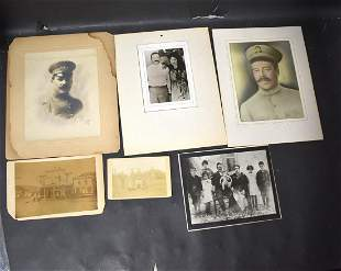 Antique Photographs (6) 19th C - early 20th C