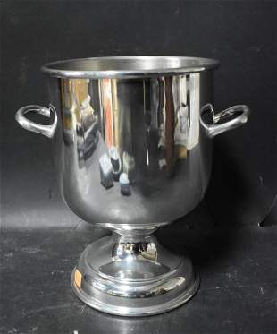 Vintage Silverplated Champagne Cooler