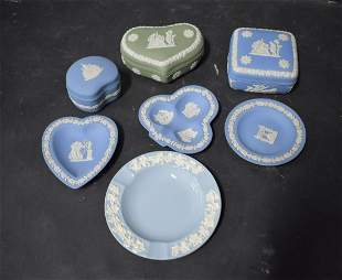 Collector's Lot of Wedgwood (7)