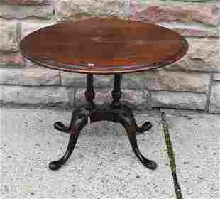 Vintage Mahogany Candle Stand