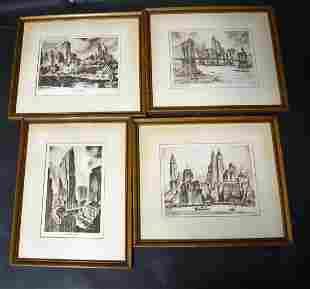 Nat Lowell New York Prints (4)
