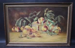 L.M. Smith American Oil: Peaches