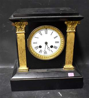 Quality French Empire Mantle Clock
