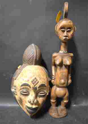 African Art. Ex. Willie Foster Collection w/label