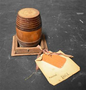 U.S. Patent Model Barrel Cover