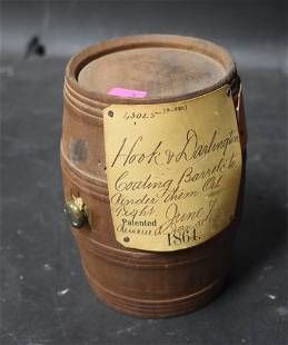 U.S. Patent Model Coating Barrel