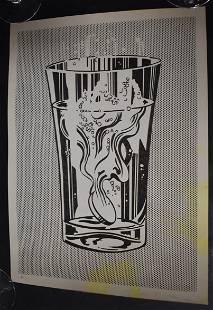 Lichtenstein Sgd Lithograph.