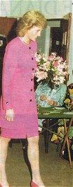 Princess Diana Owned Pink Suit
