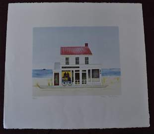 """Sag Harbor Antiques"" Mary Falconer Sgd."