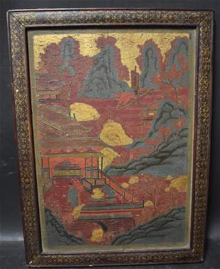 Ming Dynasty Lacquer Painting