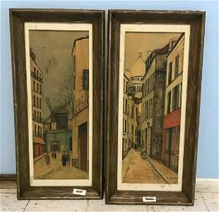 Maurice Utrillo Framed Prints (2)