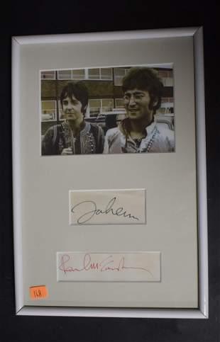 Lennon McCartney '75 & '92