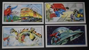 1972 Superman Cards Rare (4)