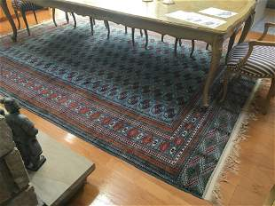 Persian Wool Bokhara Blue