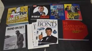James Bond Book Collection (10)