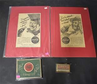 Vintage Advertisements, Tins & Ads (4)
