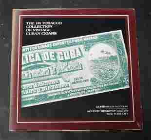 Cuban Cigar Catalog 1983