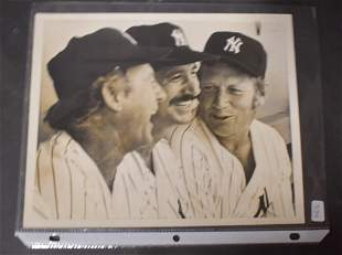 Vintage New York Yankee Photo