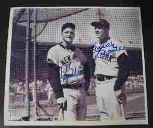 Mickey Mantle & Roger Maris Signed Photo