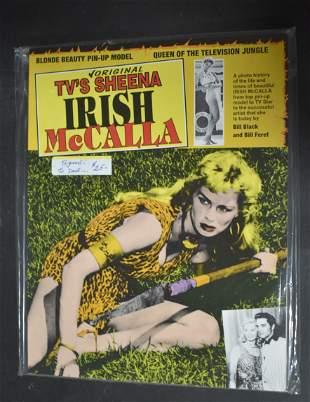 Irish McCalla Signed Magazine