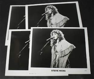 Photographs of Stevie Nicks (4) & Young Rascals (1)