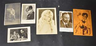 Collector's Lot of Autographs and Photos (6)