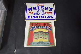 Antique Advertising Signs On Paper (2)