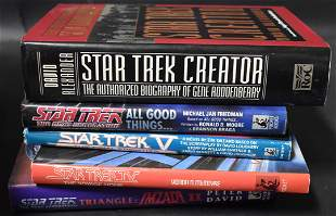 Star Trek Collectible Books (5)