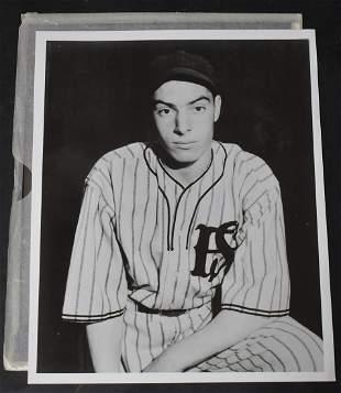 Rare Vintage Joe DiMaggion Photo.& Negative