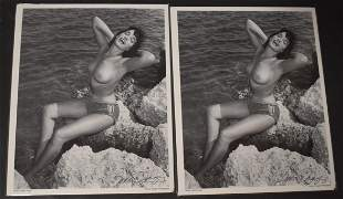 Bettie Page Photographs Signed Bunny Yeager