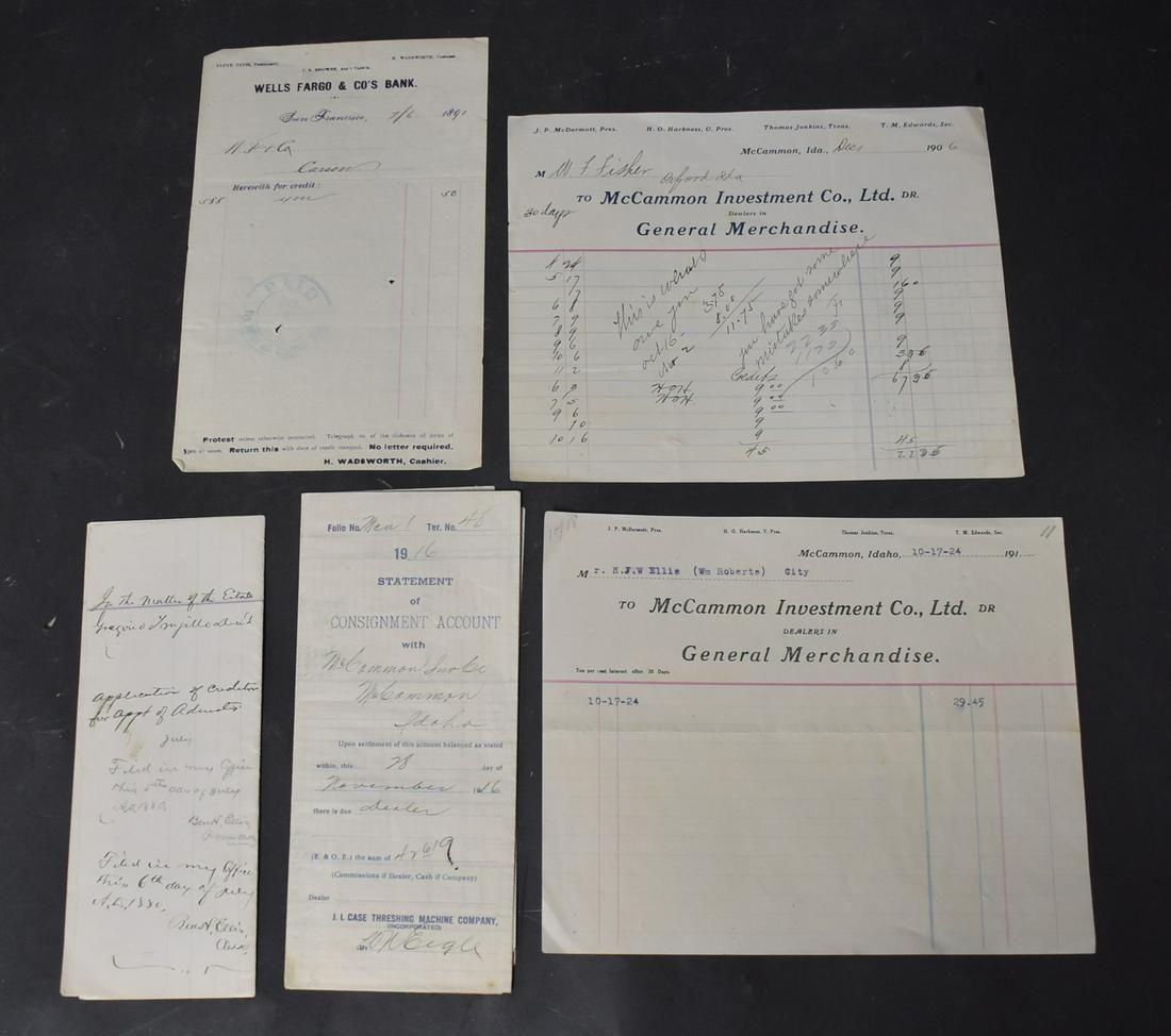 Collectible Eerly Ephemera & Documents 18801924 (5)