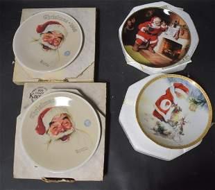 Collectible Christmas Plates (4)