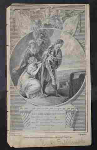 18th Century English Engraving Edward the Black Prince