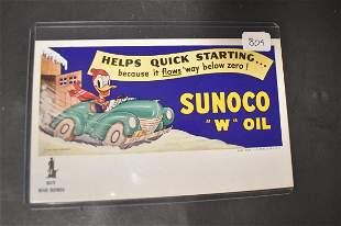 Donald Duck War Bond Ad for Sunoco