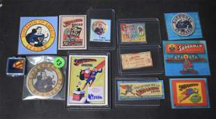 Lot of Superman Collectibles (12)