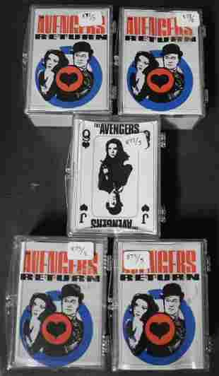Avengers Trading Cards (5 Boxed Sets)