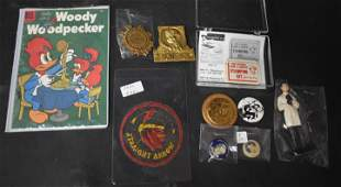 Collector's Lot of Premiums, Pinbacks, and Badges (10)