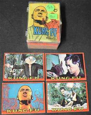 Topps KungFu Trading Cards
