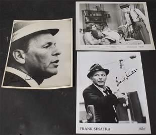 Signed Frank Sinatra Photos (3)