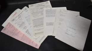 Signed Celebrity Contracts (12)