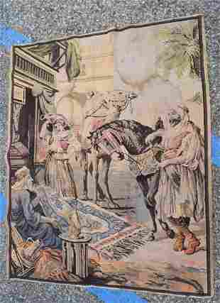 Antique Tapestry: Rug Merchant