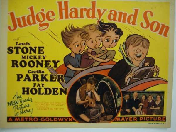 JUDGE HARDY AND SON TITLE CARD
