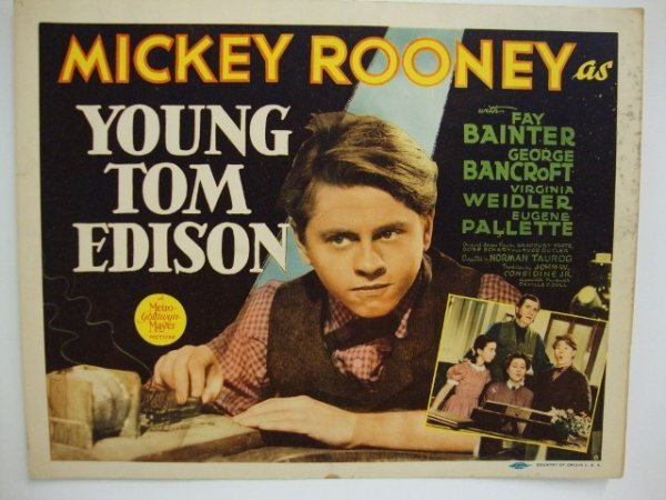 YOUNG TOM EDISON TITLE CARD