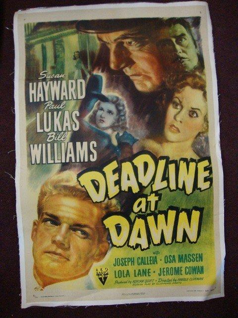 DEADLINE AT DAWN MOVIE POSTER
