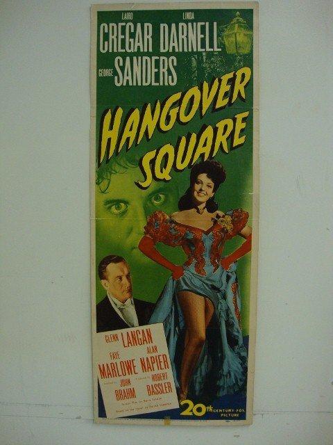 HANGOVER SQUARE INSERT